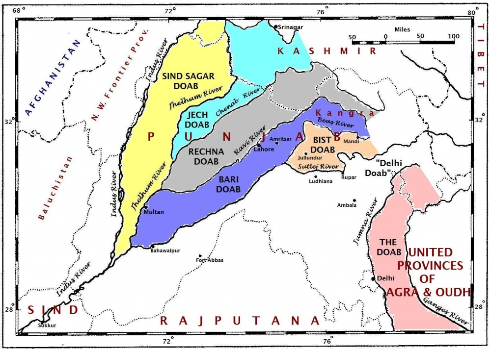 parallel ranges of himalayas